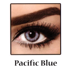 Bella Soft Diamond Collection Pacific Blue Contact Lens